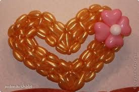 Сердце своими руками из шариков