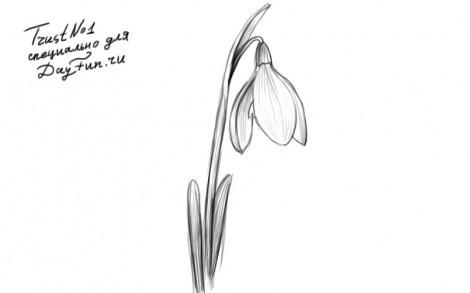 Как нарисовать пробуждение весны картинки