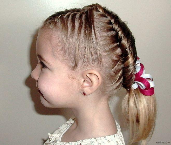 Как сделать красивую прическу девочке 8 лет
