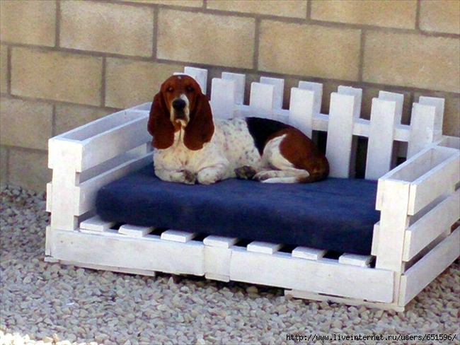 Сделать кровать своими руками для собаки