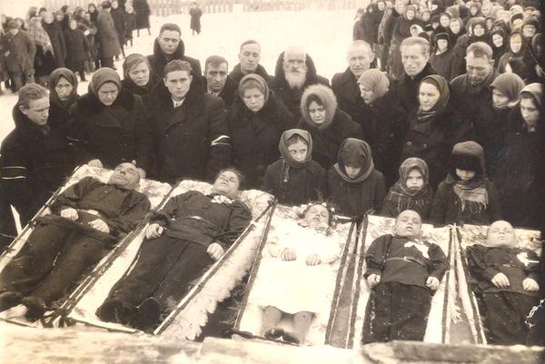 Почему раньше фотографировали похороны