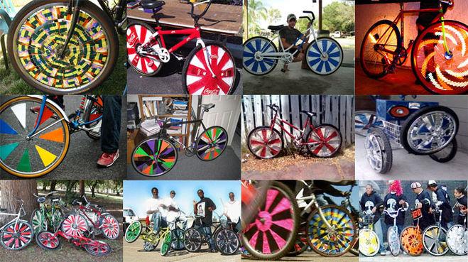 Украшение велосипеда своими руками фото