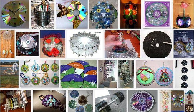 Что можно сделать из ненужных дисков своими руками дисков