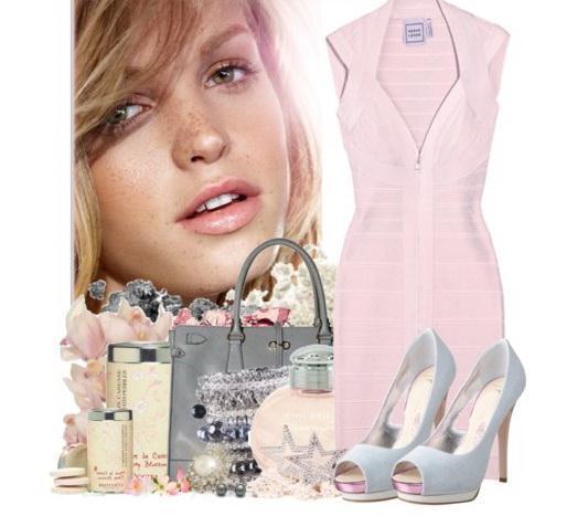 e871767fbd9 Какие аксессуары подойдут к светло-розовому платью