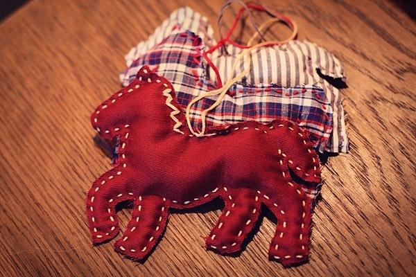 Лошади к новому году своими руками