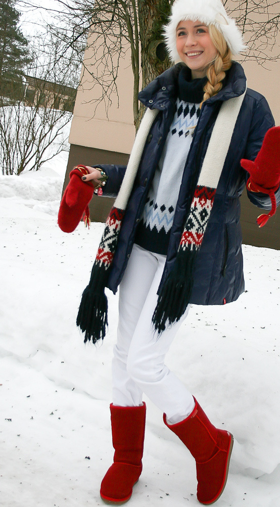 Модные наряды для девушек фото
