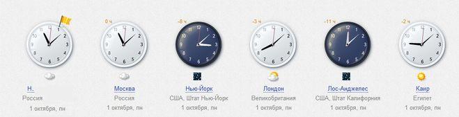 Московское время - точное время в Москве, Россия