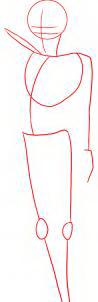 как нарисовать мальчика 1