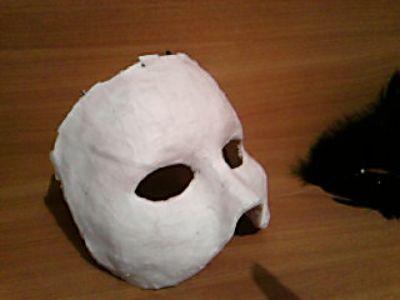 Основа для маски из папье маше своими руками 62