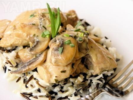 Что можно приготовить из курицы грибов