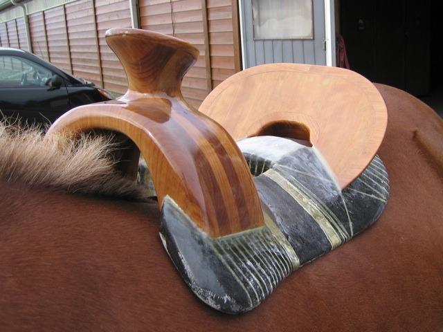 Как сделать седло для лошади