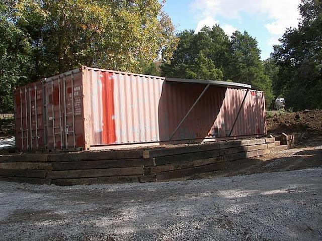 Как сделать дом из контейнера 306