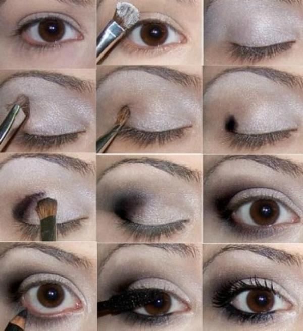 Как сделать макияж карих глаз