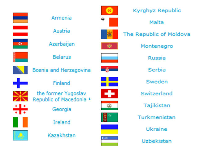 12 страны входящие в нато: