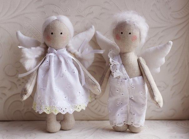 Ангелы своими руками сшить