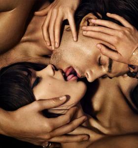 сексуальный поцелуй картинки