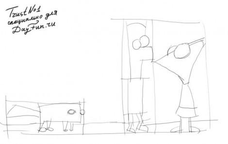 Как рисовать финеса и ферба поэтапно