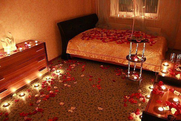 Романтический вечер любимой в домашних условиях