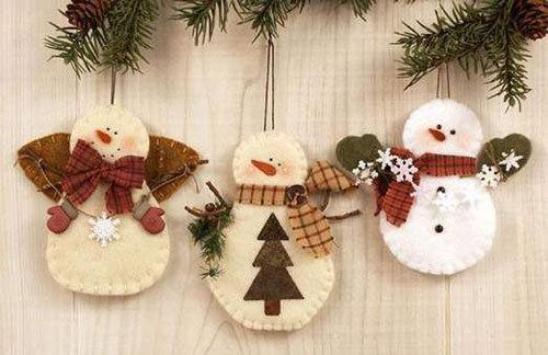 Маленькие сувениры на новый год своими руками