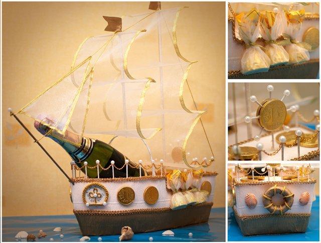 Сделать кораблик своими руками на день рождения