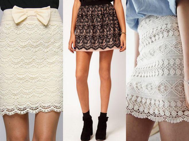 С чем носить гипюровую юбку? Варианты образов