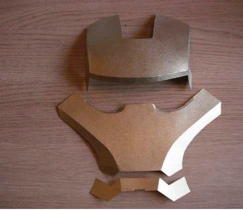 Сделать маску железного человека из бумаги своими руками