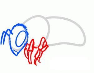 нарисовать пчелу 4