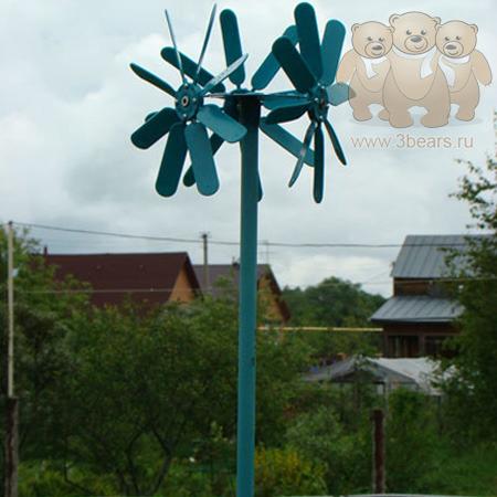 Вертушки на огород своими руками 51