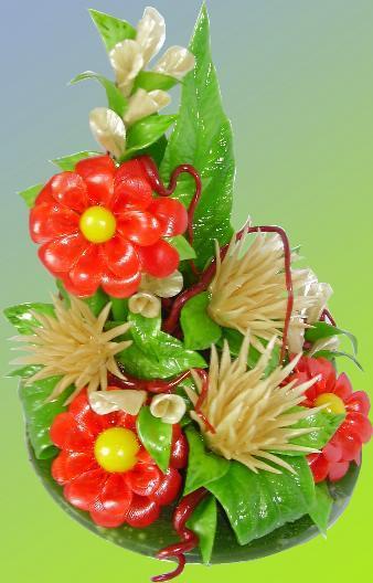 Как сделать цветы из карамели