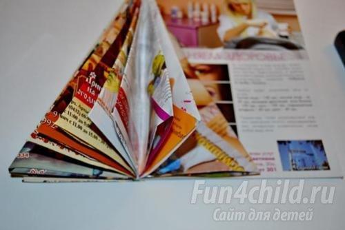 Как своими руками сделать поделку из журнала