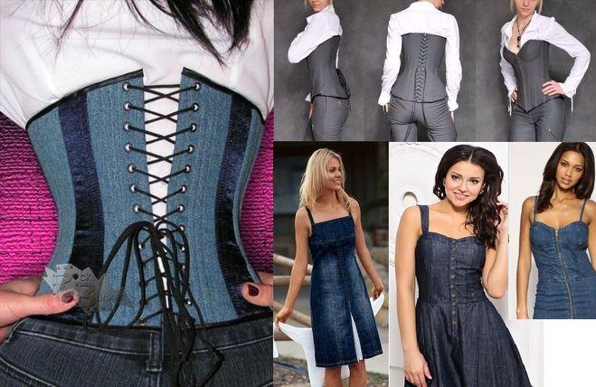 Как сшить платье своими руками из джинсовой ткани 624