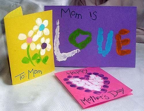 Фото открытку на день матери своими руками