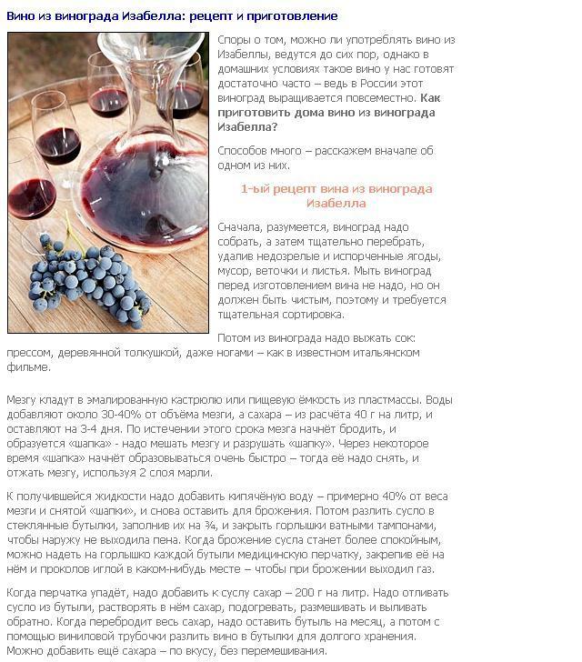 Как приготовить вино в домашних условиях рецепты
