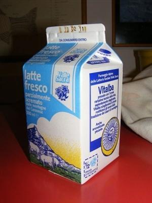 Кого изображают на упаковке молока