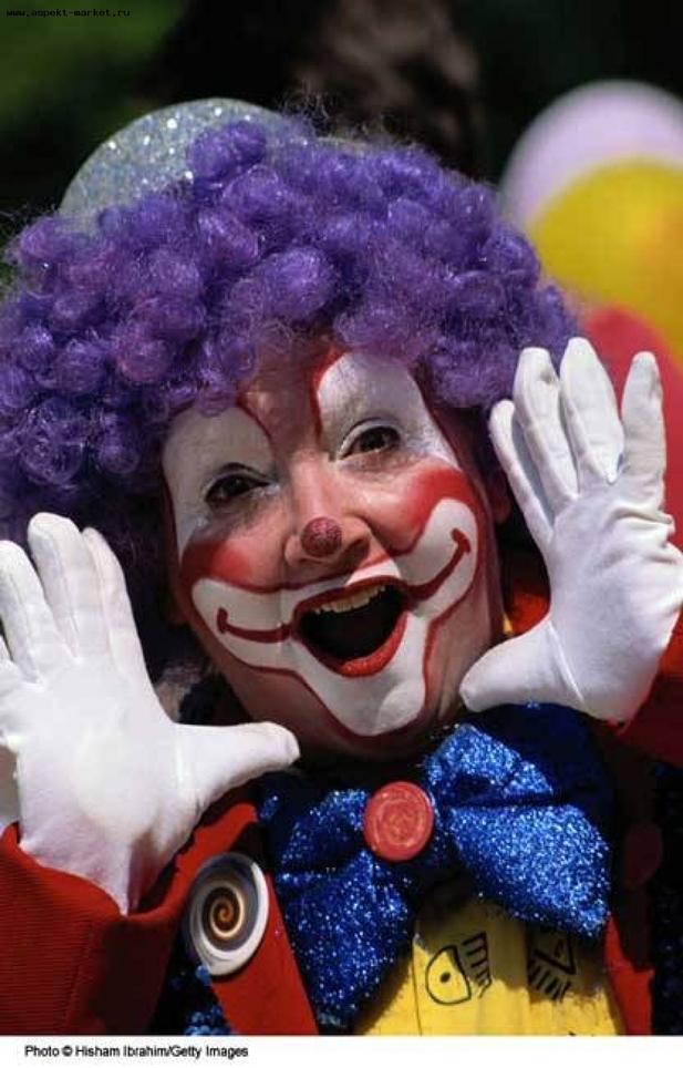 Сшить клоуна своими руками