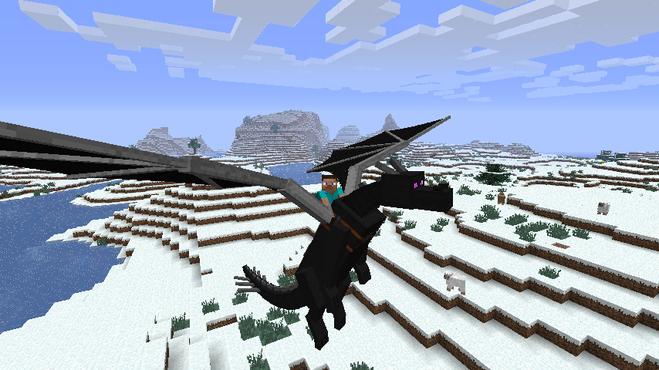 как призвать эндер дракона в minecraft