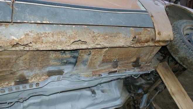 ремонт порогов на автомобиле своими руками
