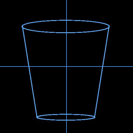 Как нарисовать воду в стакане поэтапно
