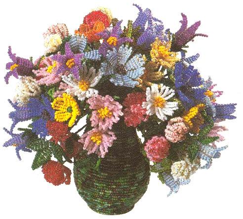 8 из цветов своими руками