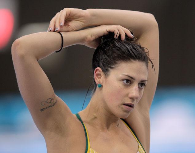 Татуировки спортсменок