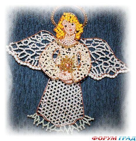 Своими руками рождественского ангелочка фото 474