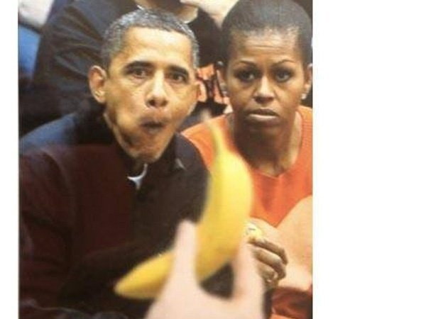 Обама - на банан