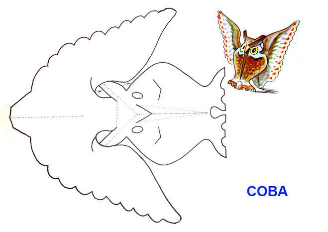 Оригами из бумаги сова схема