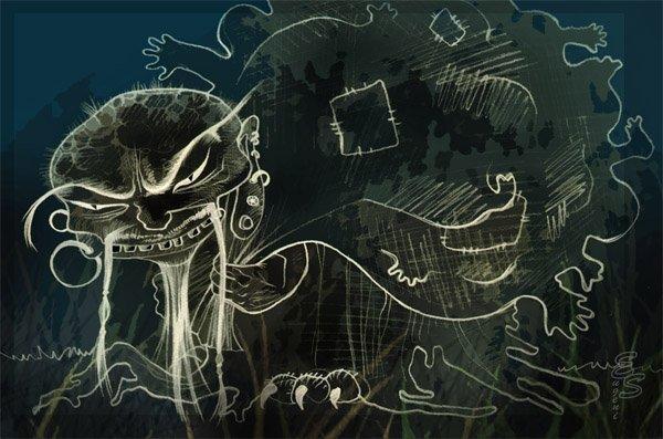 Как выглядит бабайка ночью - 05