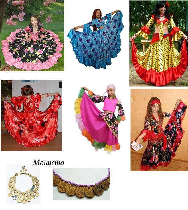 Как сшить детский костюм цыганки своими руками 36