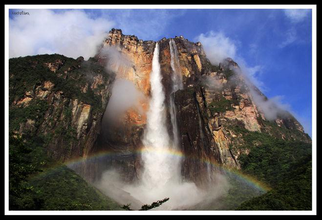 Водопад анхель на каком материке