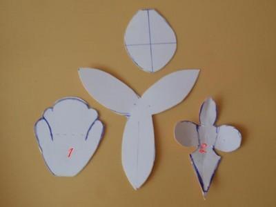 Мк орхидея из мастики