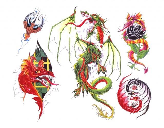 Что означает татуировка дракона