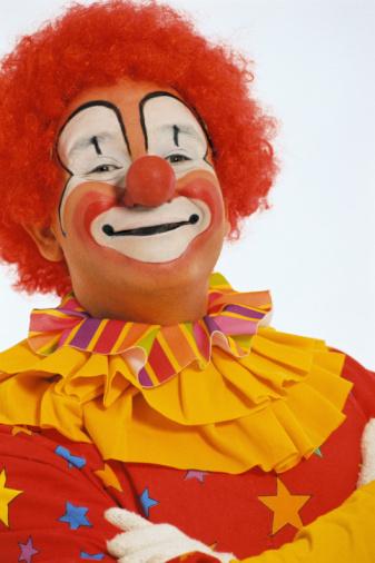 Как сделать парик для клоуна своими руками