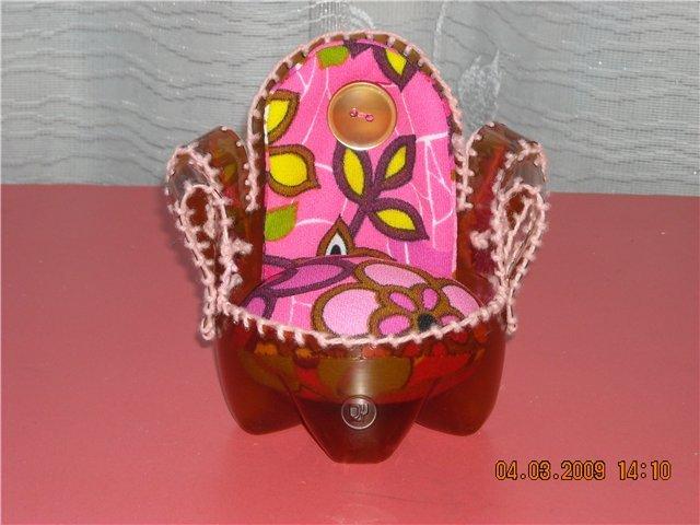 Мебель для кукол из бутылок своими руками